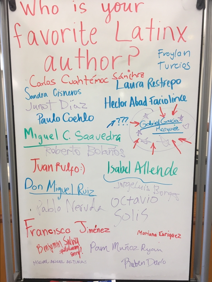Who is your Favorite Latinx Author?